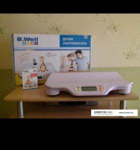 Электронные весы B. Well Kids WK-160 новые