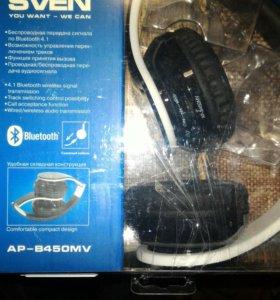 беспроводные наушники sven ap-b450mv