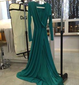 Вечернее платье Бирюза