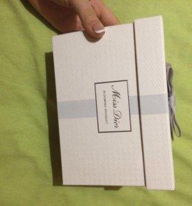 подарочный набор от Dior с духами оригинальный