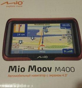 Mio Moov m400 (комплект) система навигации новител