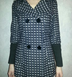 Куртка - пальто из ткани на теплую погоду