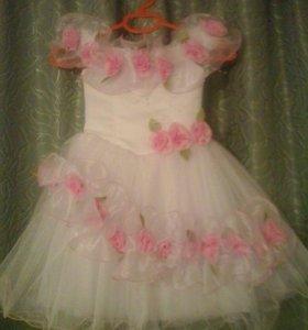 Платье для девочки 3-4 лет