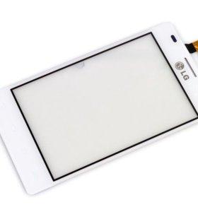 Тачскрин LG L5 Dual (E615) белый оригинал