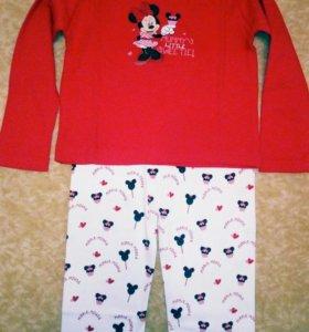 Пижама на девочку Минни Маус