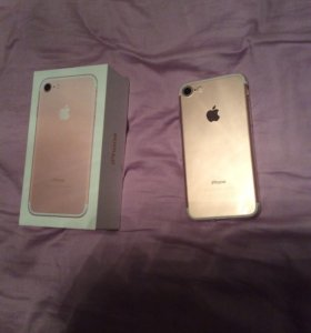 iPhone 7 32g gold rose