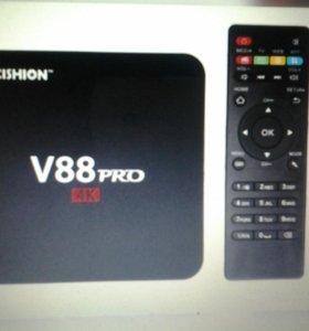 Smart Tv box приставка к тв 2200 каналов