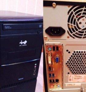 Игровой комп Core i3, 4gb, GeForce 2.7gb + монитор