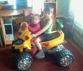 Детский квадроцикл на аккум
