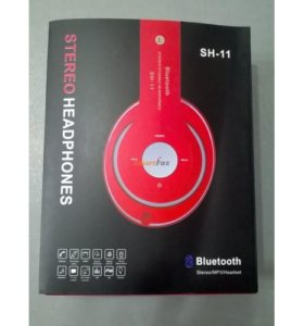 Беспроводные Bluetooth наушники SH-11 MP3+FM