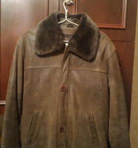 Куртка кожаная натуральная мужская