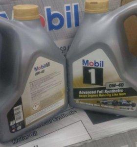 Моторное масло Mobil1 0w40 4л.