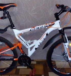 Горный (MTB) (гибрид) велосипед.