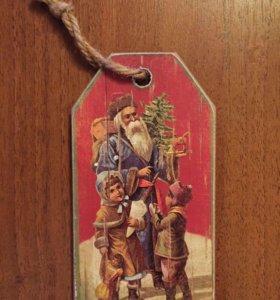 Елочная игрушка подарок Новый год сувенир новый