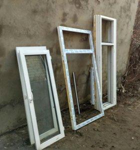 Окна пластиковые б/у дешево