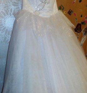 Платье праздничное свадебное детское