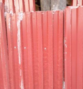 Профнастил на забор 2 метровый 13 листов