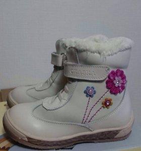 Новые зимние ботинки для девочек