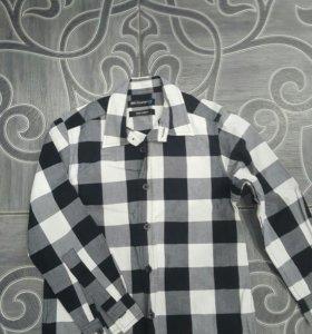 Рубашка на мальчика фирма MARKS&SPENCER
