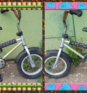 Продам велосипед для маленького ребёнка!
