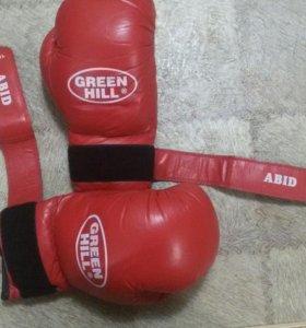 Боксерские перчатки Green Hill Abid 10 Oz