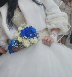Шубка свадебная