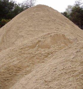 Белый намывной песок