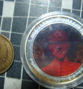 Медаль михаэль шумахер
