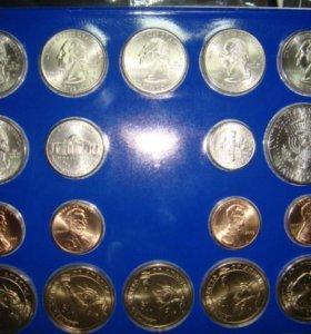 Набор монет США