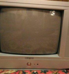 Телевизор, диагональ 35см.