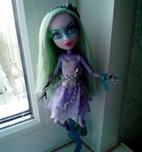 Кукла Monster ( Монстр Хай ) Твайла  (Призрачно)
