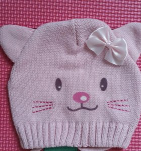 Новая шапка для девочки Playtotay р.42