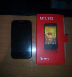 Телефон МТС 972