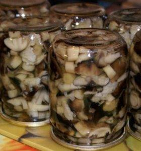 Грибочки соленые 0,5