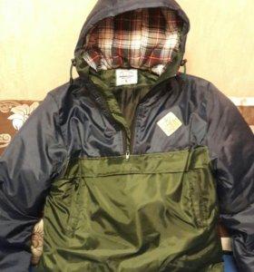 Куртка анорак зимняя