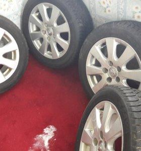 продам зимние колеса литые диски