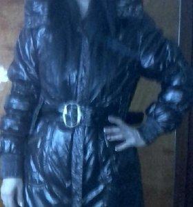 Пуховик - пальто.