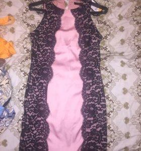 Новое нарядное платье с биркой
