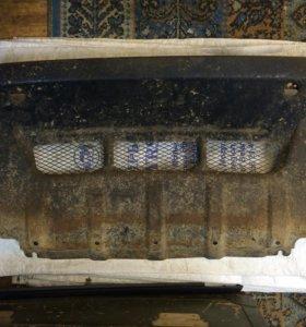 Защита бампера переднего Mitsubishi Pajero 3