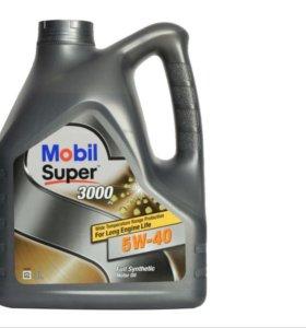 MOBIL Super 3000x1 5w40 4 литра