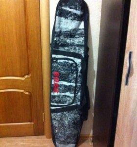 Компл. сноуборд с креплениями+чехол+ботинки сноуб.
