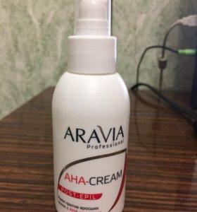 Крем против вросших волос с AHA кислотами