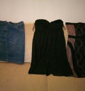 Платья и юбка 48-50