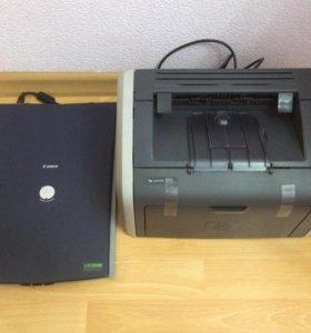 Приние и сканер