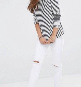 Белые джинсы by Boohoo