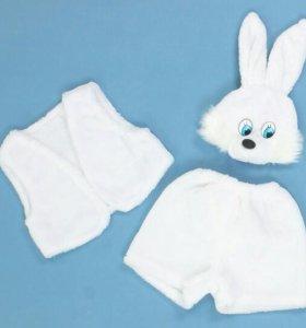 Костюм зайца  3-5 лет
