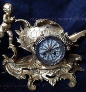 Часы каминные настольные Vincenty 1855г.