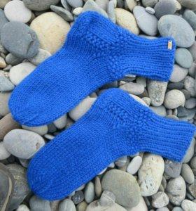 Носочки вязаные новые тёплые