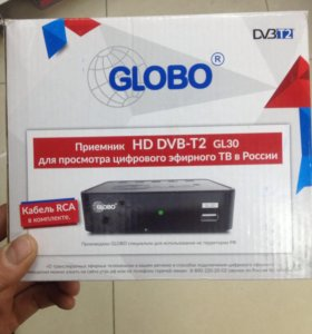 Globo  HD DVB-T2 приставка цифрового телеведения