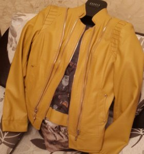 🌻Кожаная куртка женская